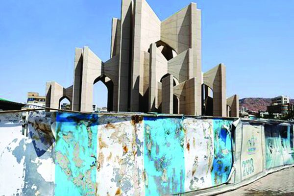 اینجا مقبرة الشعراء تبریز بود !