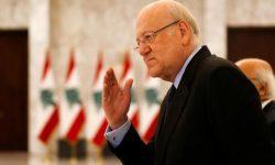 میقاتی: مأموریت اصلی دولت توقف فروپاشی لبنان است/نمیتوان حزبالله را نادیده گرفت