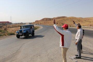 مسابقه اتومبیلرانی تورینگ سافاری در تبریز