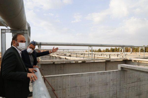 تصفیهخانه ۱۵۰۰ میلیارد تومانی تبریز در آستانه بهرهبرداری است