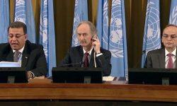 پایان روز اول مذاکرات قانون اساسی سوریه در ژنو